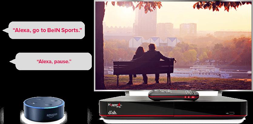 TV manos libres de DISH - Controla tu TV con Alexa de Amazon - Reno, Nevada - Silver Digital Satellite - Distribuidor autorizado de DISH