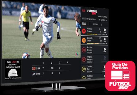 Guía de partidos - Fútbol 360 - Reno, Nevada - Silver Digital Satellite - Distribuidor autorizado de DISH